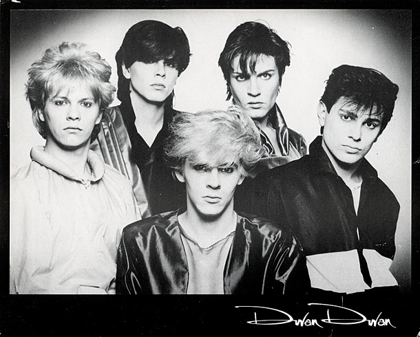 First 1980 official publicity photograph by Allan Ballard