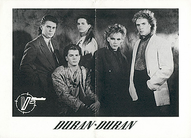 Photo : 1985 (Official Duran Duran fan club).