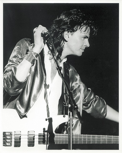 August 1985 - John Taylor by Chris Walter/Photofeatures