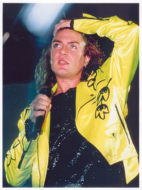 Simon Le Bon during Big Live Thing Tour
