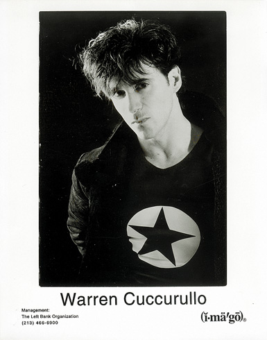 Publicity photo: Warren Cuccurullo, 1996 (Imago)